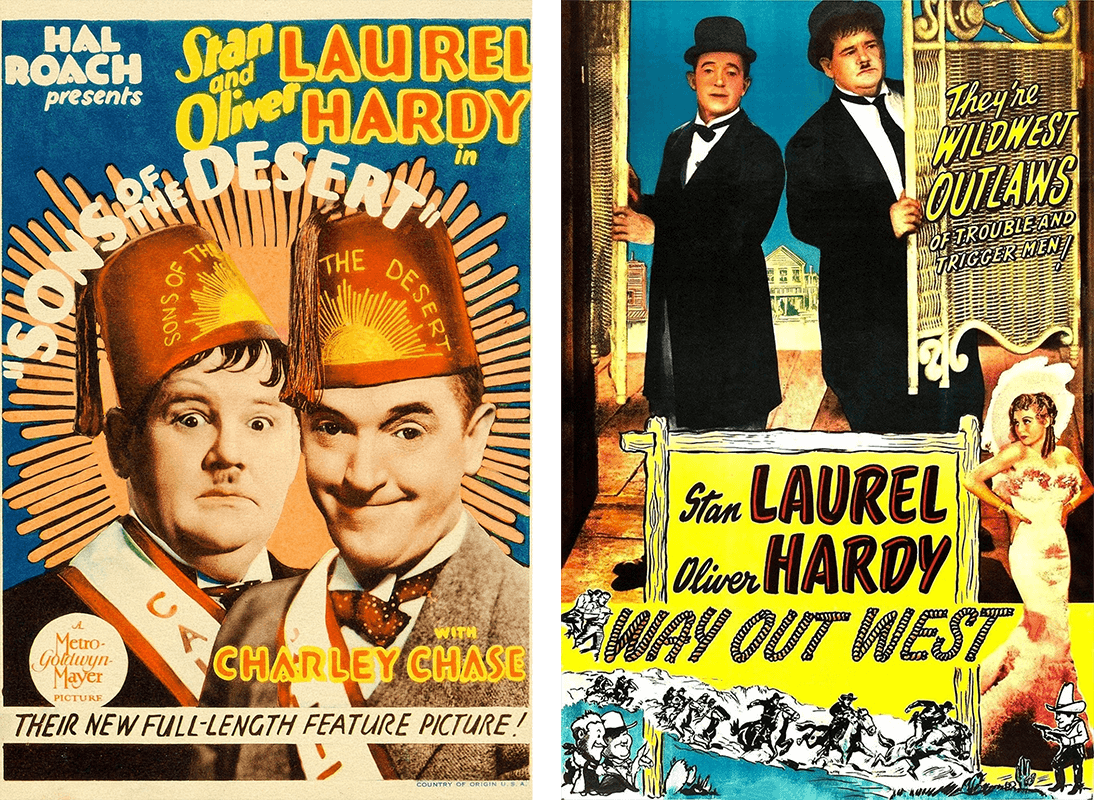 Laurel and Hardy Double Bill